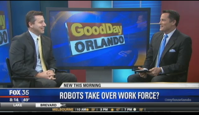 Robots take over work force?