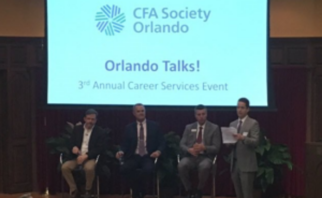 TEDx Style Talk at CFA Society of Orlando