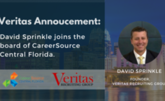 Veritas Announcement