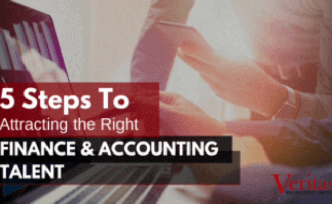 5 Steps to Attracting the Right Finance & Accounting Talent