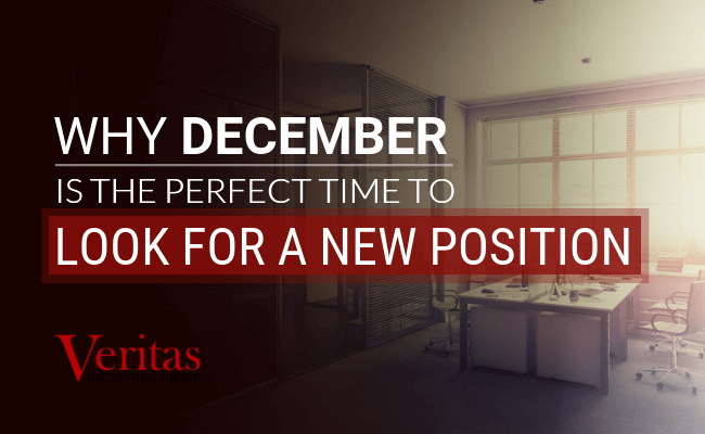 Why December is the Perfect Time to Look for a New Position