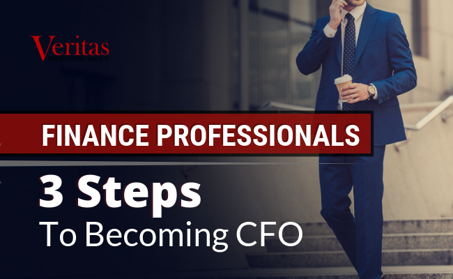 3 Steps to Becoming CFO
