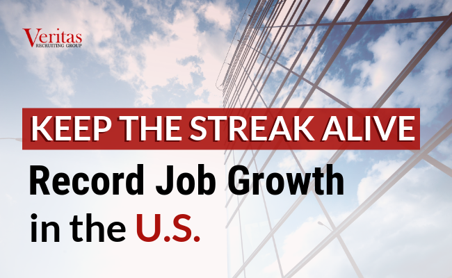 Record Job Growth in the US