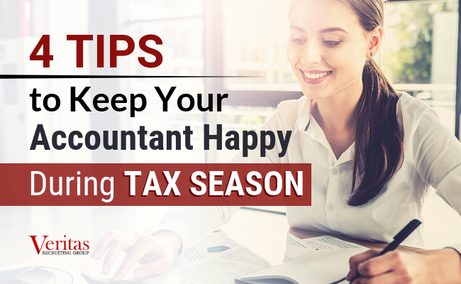 4 Tips to Keep Your Accountant Happy During Tax Season