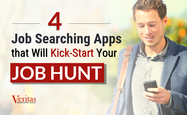 4 Job Searching Apps to Kick-Start your Job Hunt