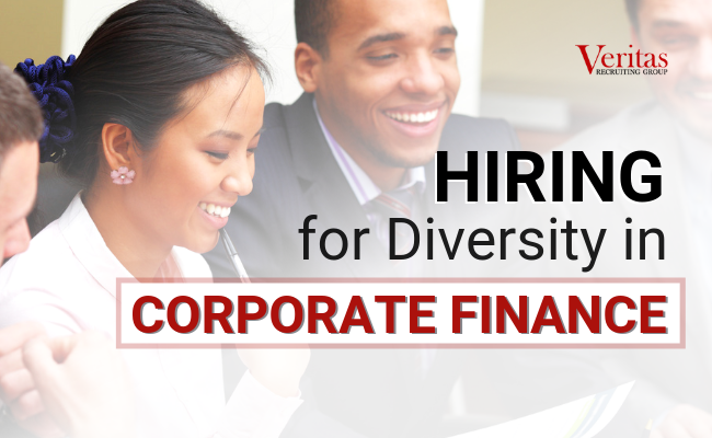 Hiring for Diversity in Corporate Finance